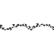 Graduation Wire Garland-Black