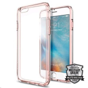 "Spigen iPhone 6S (4.7"") Ultra Hybrid Case-Rose Crystal,Elite Protection, Air Cushion Technology,"