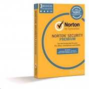Symantec Norton Security Premium 3.0 (3Devices, 1User, 1Year) 25GB cloud backup, easy security