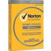 Symantec Norton Security Premium 3.0 25GB (10Device, 1User, 1 Year) easy security solution to