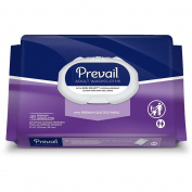 Prevail Quilted Cleansing Wipes, 20cm x 30cm ., Pack/48