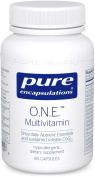 Pure Encapsulations 60 Vcaps - O.N.E. Multivitamin with Metafolin L-5 MTHF