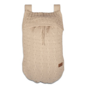 Baby's Only 134112 Toy Rucksack - Knitted Braid - 48 x 40 cm - Plain Colour