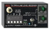 RDL TX-TPR1A Active Single-Pair Receiver-Twisted Pair Format-A