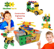 ETI Toys | STEM Learning | Original 93 Piece Educational Construction Engineering Building Blocks Set for 3, 4 and 5+ Year Old Boys & Girls | Creative Fun Kit | Best Toy Gift for Kids Ages 3yr – 6yr