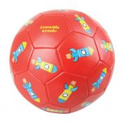 Crocodile Creek Kids Rockets Boxed Soccer Ball, Red, 7.6cm /18cm