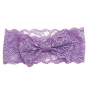 Culater® Baby Kids Girls New Fashion Girls Lace Big Bow Hair Band Baby Head Wrap Band Accessories