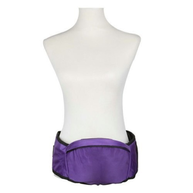 Kasstino Comfortable Toddlers Waist Seat Carriers Stool with Belt Suspenders Sling Wraps (Purple)