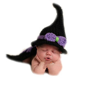 JT-Amigo Baby Photography Prop, Newborn Witch Costume Outfits, Size Newborn