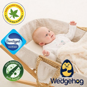 Amicor Wedgehog Deluxe - 28cm Moses Basket Reflux Wedge