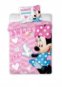 2 Piece Disney 898 Minnie Mouse Children's Bed Linen 100 x 135 40x60