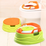 Multifunctional 4 in 1 Keller Potty Toilet Training For Children with Non-slip Chair Toilet Baby Egg Potty with Step Stool