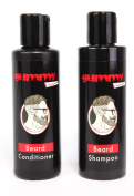 GUMMY PREMIUM BEARD SHAMPOO & CONDITIONER SET WITH ADDED VITAMIN E FOR TOTAL BEARD CARE & CONDITION