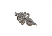 BEAUTIFUL CRYSTAL VINTAGE STYLE BEAK CLIP - HAIR CLIPS DIAMANTE FOR WOMEN