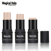 Magical Halo Cosmetics-Pro Face Bronzer Makeup shimmer stick for face 3D skin colour Brighten