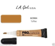 L.a Girl Pro Conceal Hd High-definition Concealer Colour Toffee GC984