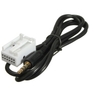 3.5MM Aux In Audio Cable Input Adapter For Vw Volkswagen Golf Rcd510 Rcd310