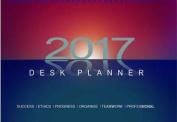 2017 Desk Planner
