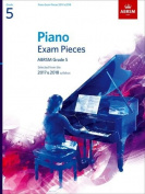 Piano Exam Pieces 2017 & 2018, Grade 5, with CD