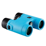 BNISE - 8x32 Compact Binoculars for Bird Watching - Asika HD Military Telescope for Hunting and Travel - Folding Pocket Size for Kids and Childrens Astronomy - High Clear Vision - Blue
