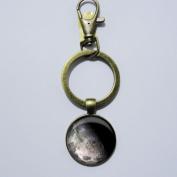Moon Keychain, Mimi Keychain, Key Everyday Gift Key Chain, Unique Key Ring Customised Gift