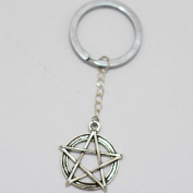 Five-pointed Star Charm Keychain,gorgeous Keychain, Mimi Keychain Five-pointed Star Charm Everyday Gift Key Chain, Unique Key Ring Customised Gift Wish Bone Charm