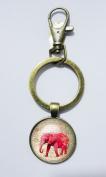 Elephant Keychain , Mimi Keychain, Key Everyday Gift Key Chain, Unique Key Ring Customised Gift