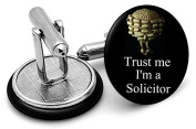 Trust me I'm a solicitor Cufflinks - supplied in gift pouch