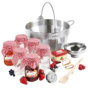 VonShef 9L Maslin Pan Jam Preserving Starter Set Bundle with FREE Extended 2 Year Warranty