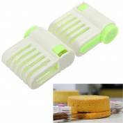 PANNIUZHE 5 Layers DIY Cake Loaf Bread Cutter Slicer Machine Plastic Kitchen tools Cake Testers