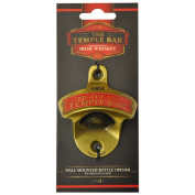 Temple Bar Wall Mounted Bottle Opener With Traditional Irish Whiskey Design