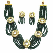 Jewellery Gold Plated Necklace Set In Gold Colour For Women
