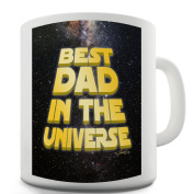 Twisted Envy Best Dad In The Universe Ceramic Novelty Mug