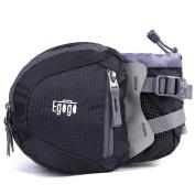EGOGO travel sport waist pack fanny pack hiking bag with water bottle holder
