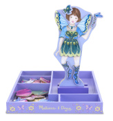 Melissa & Doug Magnetic Wooden Dress Up Doll Petal Fairy