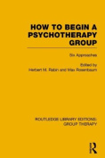 How to Begin a Psychotherapy Group