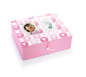 Pearhead Nursery Collection Keepsake Box
