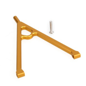 WEONE Gold Aluminium Front Chassis Linkage Y-Link Tree RC SCX10 1/10 Car Upgrade Parts