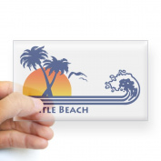 CafePress Myrtle Beach Rectangle Sticker Sticker Rectangle - 3x5 Clear