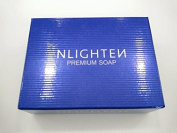 AUTHENTIC NLIGHTEN PREMIUM CLEAR BAR SOAP POWERFUL MOISTURISERS WITH ARGAN OIL, ALOE VERA AND COLLAGEN 90g.