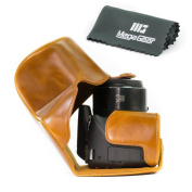 """MegaGear """"Ever Ready"""" Protective Leather Camera Case, Bag for Canon Powershot SX540 HS, SX530 HS"""