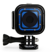 TELESIN High Quality 60m Underwater Diving Waterproof Housing Protective Case for Gopro Hero4 Session Sport Camera Accessories