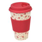dotcomgiftshop La Petite Rose Travel Mug