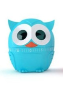 Owl Novelty Egg Timer for Kitchen Cooking Baking-Blue Owl Design