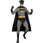 BATMAN ~ Adult 2nd Skin Costume Men : MEDIUM