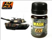 AK Interactive 1/35 Wash for Nato Tanks # 00075
