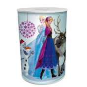 DISNEY FROZEN ANNA ELSA OLAF SVEN MONEY TIN COINS PIGGY BANK SAVING KIDS SAFE