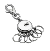 Metal keyring with 6 rings of LITTLE PRESENTS removable