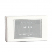 K. Hall Designs Milled Shea Soap 240ml Set of 6 - Milk