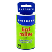 Evercare Lint Roller Refill Picks Up Lint, Dust, Dandruff 60 Layers by Evercare Company